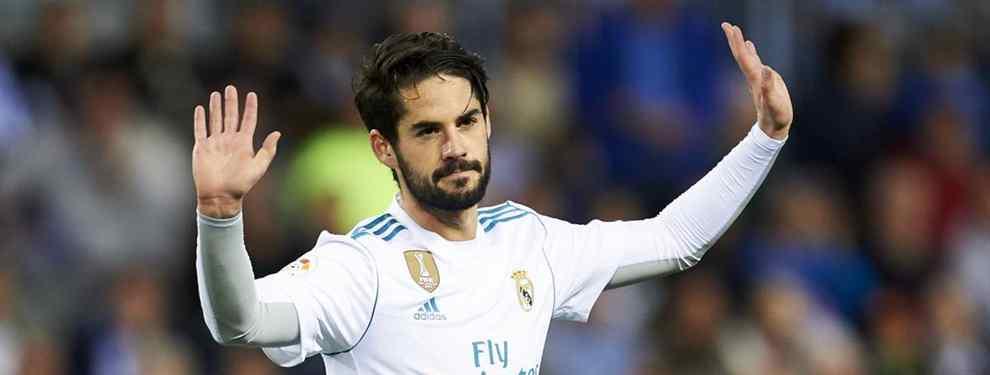 ¡A tortas! Isco los tuvo que separar: la bestial enganchada entre dos cracks del Real Madrid