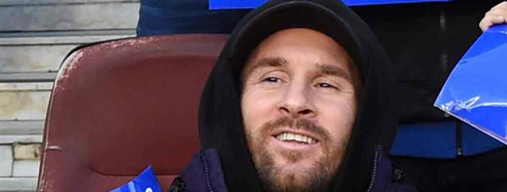 Messi pide un cambio de cromos al Barça (y es para enero)