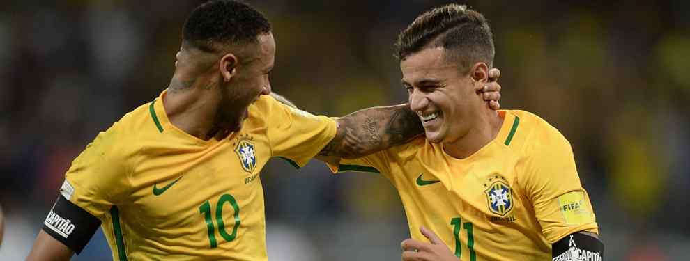 Coutinho suelta la bomba (y va de Neymar. Y no tiene nada que ver con el Real Madrid)