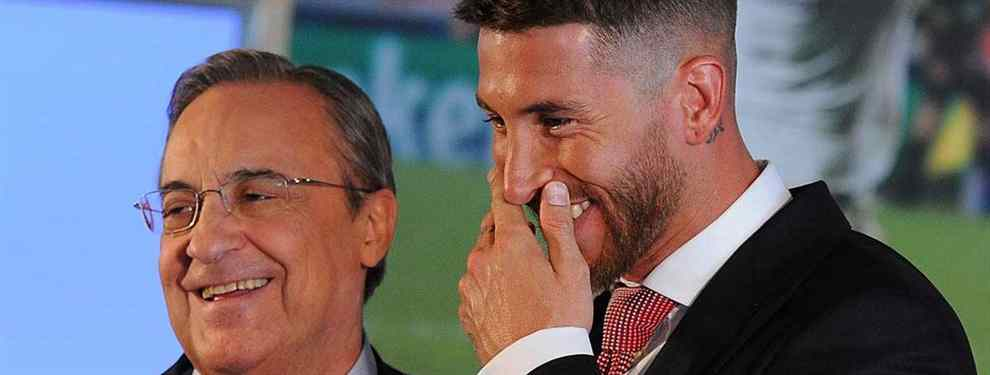 Florentino Pérez encuentra una nueva pareja para Sergio Ramos: fichaje sorpresa en enero