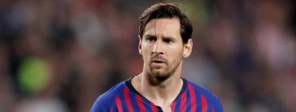 Messi elige al nuevo entrenador del Barça si Valverde (como aseguran) se va