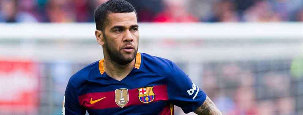 ¡Por fin! El Barça encuentra al nuevo Alves (y se lo quita a Florentino Pérez. Y al Real Madrid)