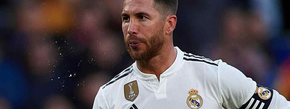 ¡Chivatazo a Sergio Ramos! El crack que pone el Real Madrid patas arriba con un 'top secret'