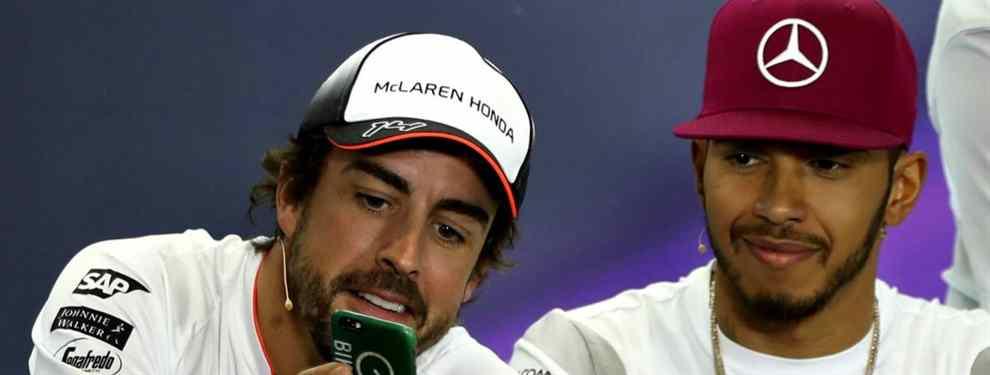 Bestial palo de Hamilton a Fernando Alonso: el campeón retrata al piloto de McLaren