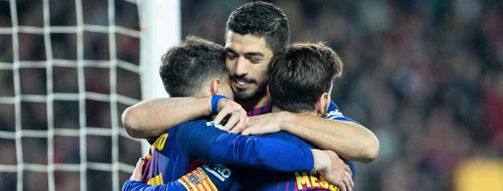 El notable golpe de timón que Valverde ha dado al Barcelona, que vuelve a ser líder en Liga y con el pase a Octavos de la Champions garantizado, no impide que el club azulgrana siga rastreando el mercado en búsqueda de nuevas
