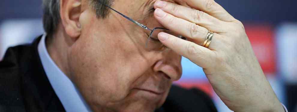 Pasa del Real Madrid: el galáctico que pega un portazo a Florentino Pérez