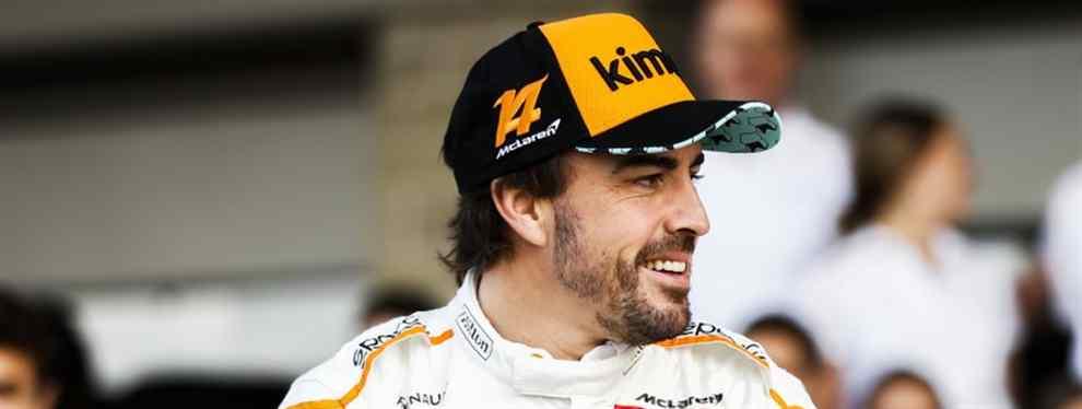 Fernando Alonso saldrá por la puerta de atrás de la F1 con una cruz que la acompañar de por vida: cargarse a Honda en McLaren.  Los japoneses tienen más que claro que de no haber sido por la presión del español