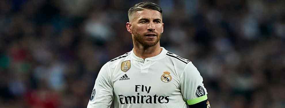 Quiere irse del Real Madrid. Se lo dice a Florentino Pérez (y no lo para ni Sergio Ramos)