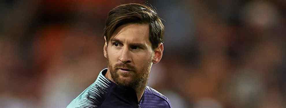 Messi no lo quiere en el Barça. El crack al que le cierra la puerta del Camp Nou