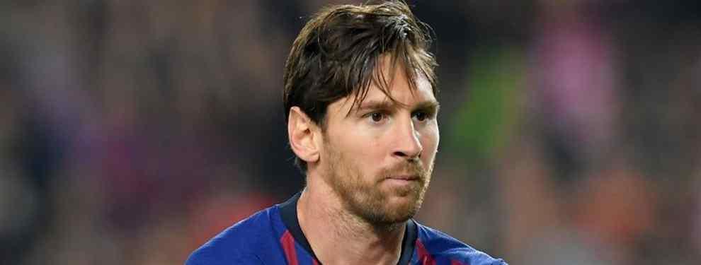 Esta en la calle: Messi echa a un crack del Barça a patadas (y no es Dembélé)