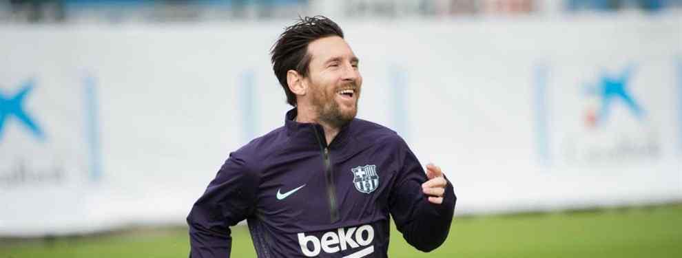 La llamada de Messi a un crack mundial que puede dejar muy tocado a Florentino Pérez (y a Dembelé)
