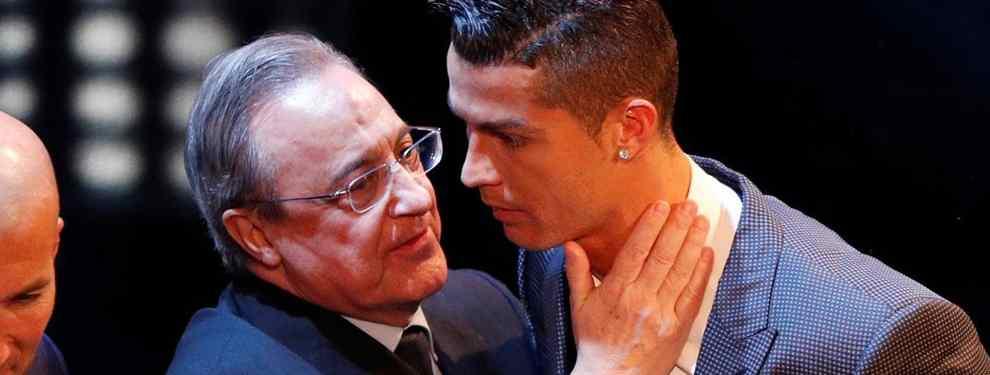 El lío monumental que pone a un galáctico capaz de suplir a Cristiano Ronaldo a tiro para Florentino