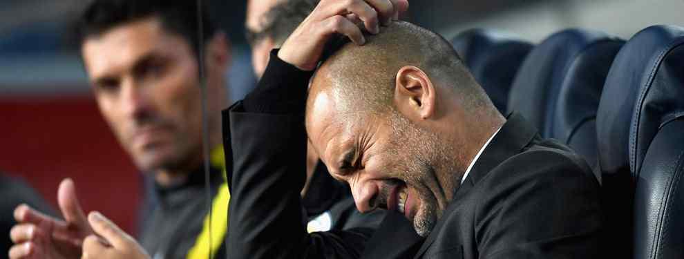 """Pep Guardiola le dice """"no"""" a un crack que el Barça le ha ofrecido al Manchester City para enero"""