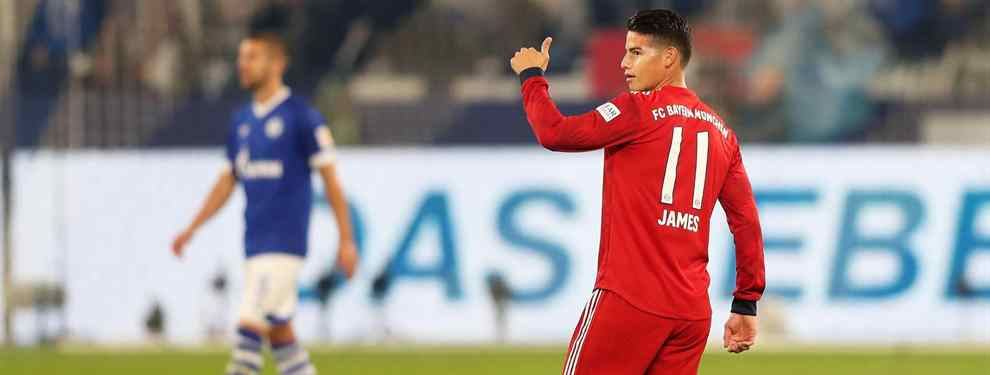 James Rodríguez quiere comprobar si realmente tiene importancia su opinión en el Bayern de Múnich y habría sugerido el nombre de Malcolm para el mercado invernal.