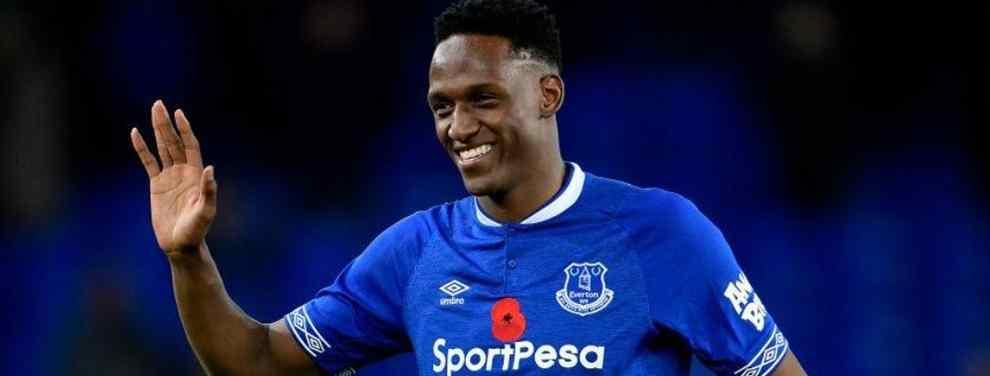 Yerry Mina tuvo la oportunidad de debutar con el Everton ante el Brighton el fin de semana. El colombiano, que llegó lesionado, ha tenido que esperar a la jornada 11 para poder disfrutar de sus primeros minutos como 'toffee'.