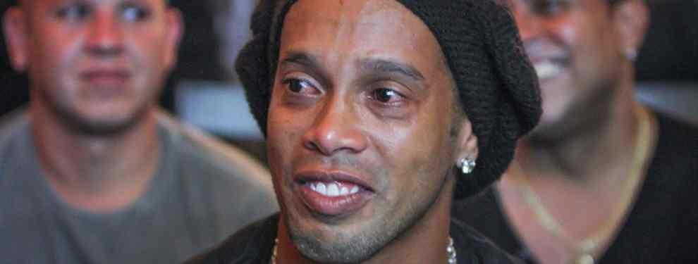 Escándalo Ronaldinho: Messi alucina. Luis Suárez no se lo cree. Y Coutinho calla.