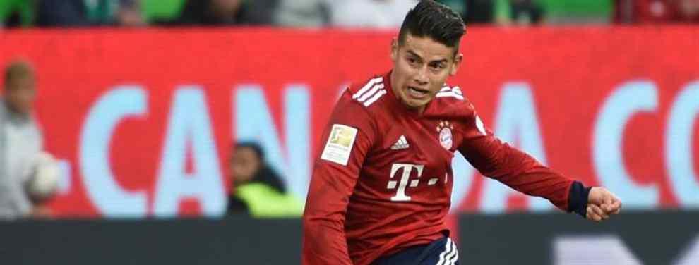 James Rodríguez pude tener los días contados en el Bayern de Múnich.  El colombiano, como viene informando Don Balón, presiona para salir de la Bundesliga en enero y sus deseos podrían ser escuchados.