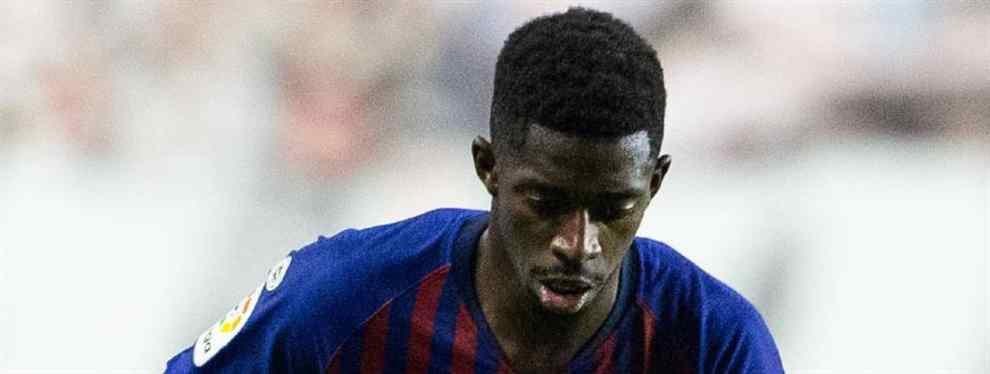 Dembélé cava su tumba: el Barça ya tiene sustituto (y es un galáctico)