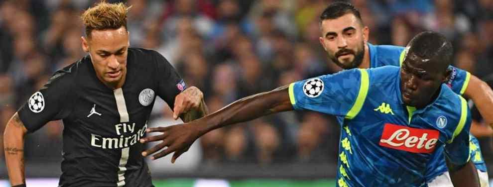 Neymar lía la de Dios: lo que pasó tras el PSG-Napoli (y Florentino Pérez está en el lío)