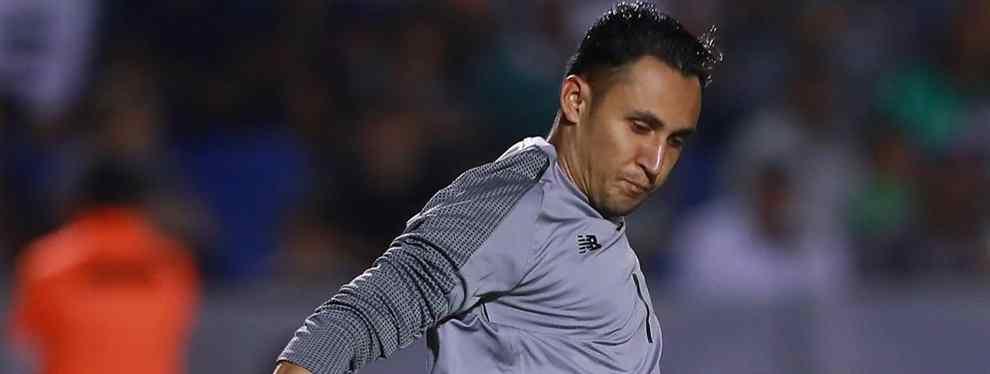 El futuro de Keylor Navas no pasa por el Real Madrid. El guardameta ha visto como el fichaje de Courtois le robaba un protagonismo que ya nunca recuperará. Su sueldo, de estrella, es demasiado elevado como para tenerlo en el banco