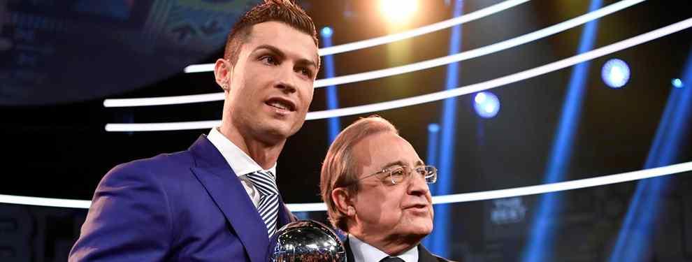 Cristiano Ronaldo suelta la bomba (y Florentino Pérez le queda cara de susto: ¡Ojo que es bestia!)