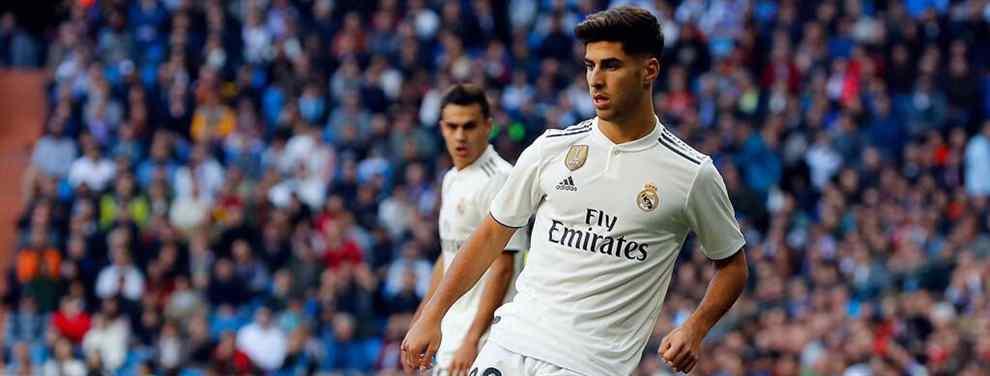 Marco Asensio lía la de Dios: el numerito que avergüenza a Bale, Benzema, Casemiro (y compañía)