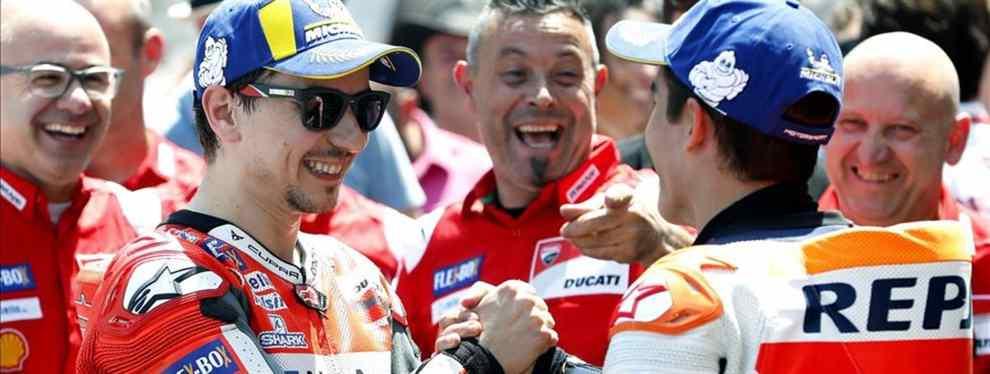 El aún piloto de Ducati ha sido preguntado por sus objetivos en el equipo de Marc Márquez el próximo curso. Y la respuesta, medida, ha sorprendido a la mayoría, pero no a laso que conocen al español.