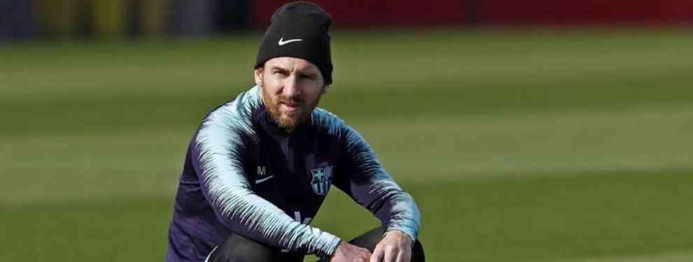 Messi manda. El crack argentino del Barça no tuvo que levantar la voz para poner firme al club, del primero al último.  Jordi Alba amenazó con dejar tirada a la entidad por ofertas de la Premier que mejoraban sus emolumentos