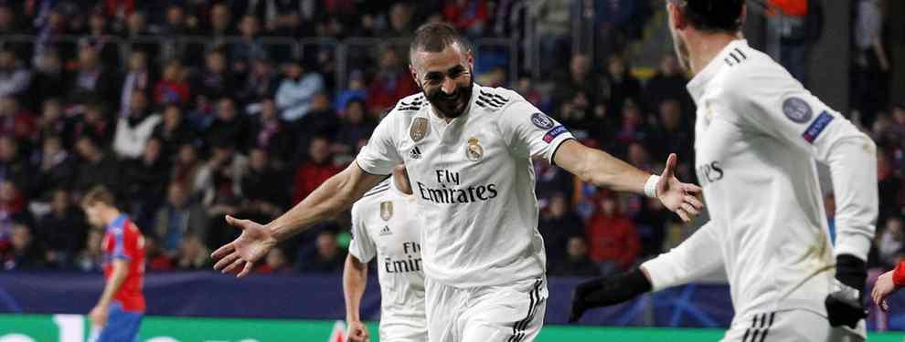 Benzema recibe una oferta de última hora para dejar el Real Madrid
