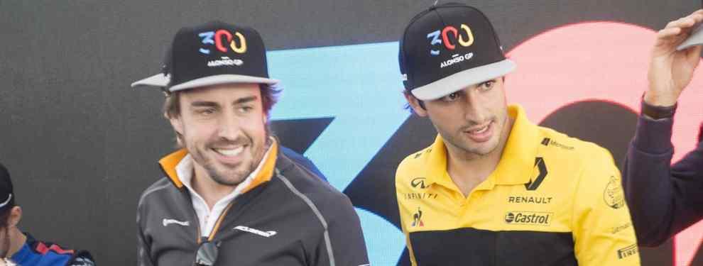 Fernando Alonso se moja: la predicción para el McLaren de 2019 de Carlos Sainz