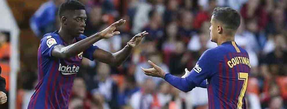 Dembélé lo tiene muy mal: Messi elige galáctico (y está en la agenda de Florentino Pérez)