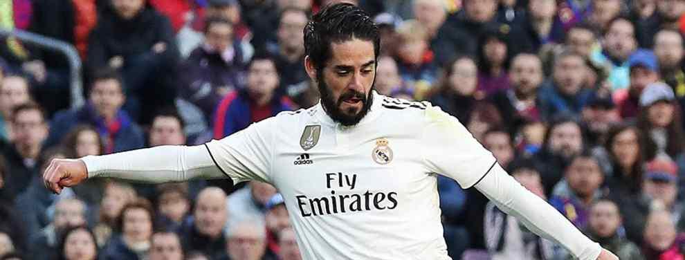 Oferta por Isco en el Real Madrid (y no es Pep Guardiola, ni Mourinho. Ojo a la sorpresa)