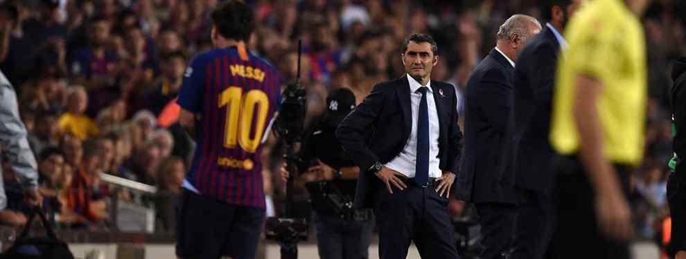 Messi pone un nombre sobre la mesa para cargarse a Valverde a final de temporada (y no es Setién)