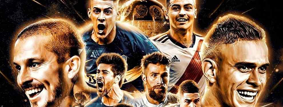 Los cracks de Boca Juniors y River Plate que están en la agenda de Barça y Real Madrid