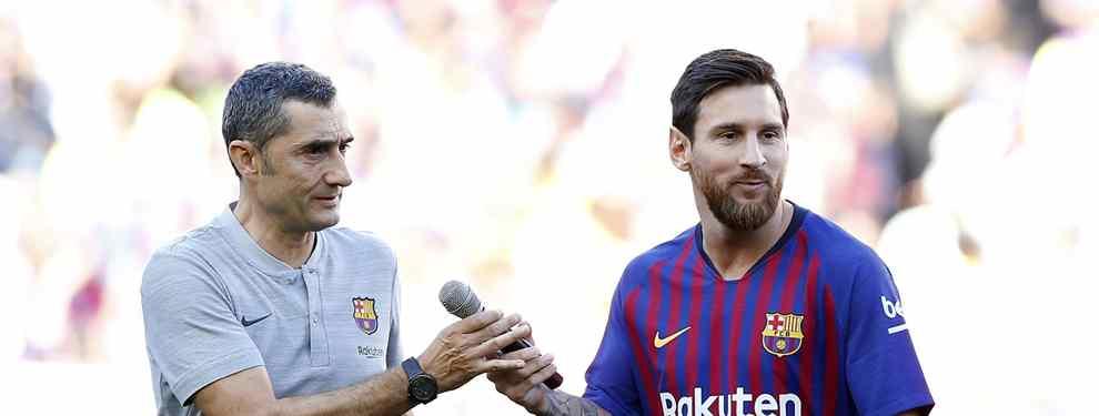 Messi y Valverde se ponen de acuerdo: El crack que debe salir en enero (ya no hay vuelta atrás)