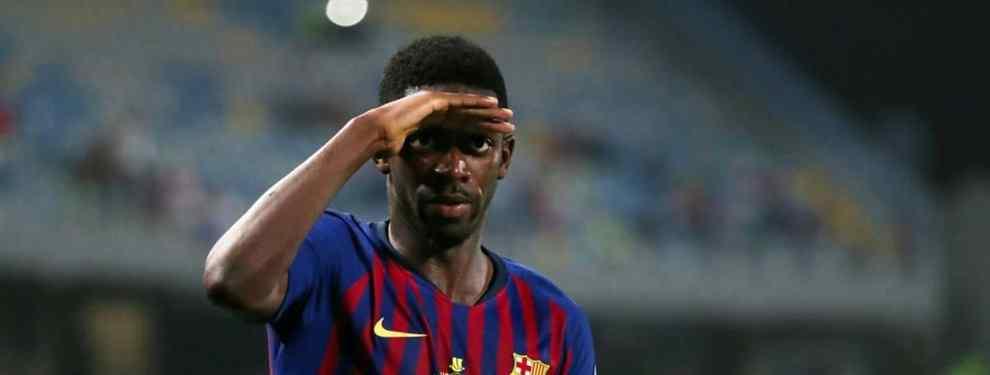 El trueque galáctico que puede mandar a Dembelé a la Premier League en enero