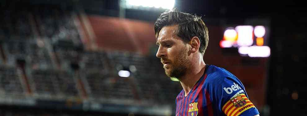 A Messi tampoco pareció gustarle la actitud de los jugadores del centro del campo, quienes quedaron retratados en el segundo gol como la jugada más vistosa, donde ninguno de los miembros de la medular bajó.