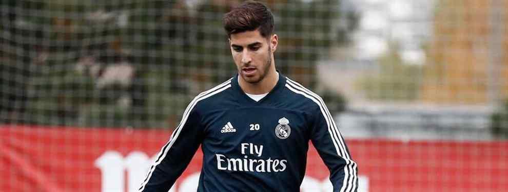 Marco Asensio está en un cambio de cromos galáctico (y sorpresa) en el Real Madrid