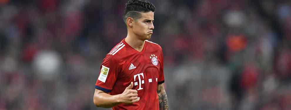 James Rodríguez sigue dando de qué hablar. El colombiano vive uno de sus peores momentos como profesional en el Bayern de Múnich y su salida es prácticamente un hecho. O era.