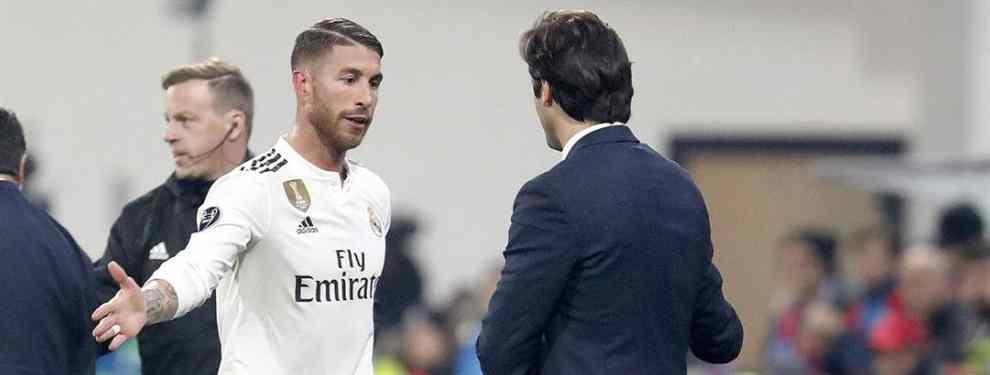 As en la manga. Santiago Solari ha llegado al Real Madrid para quedarse, al menos, hasta junio.  La idea del argentino es reconstruir un Real echo una trizas y con egos desmedidos, desde ya.