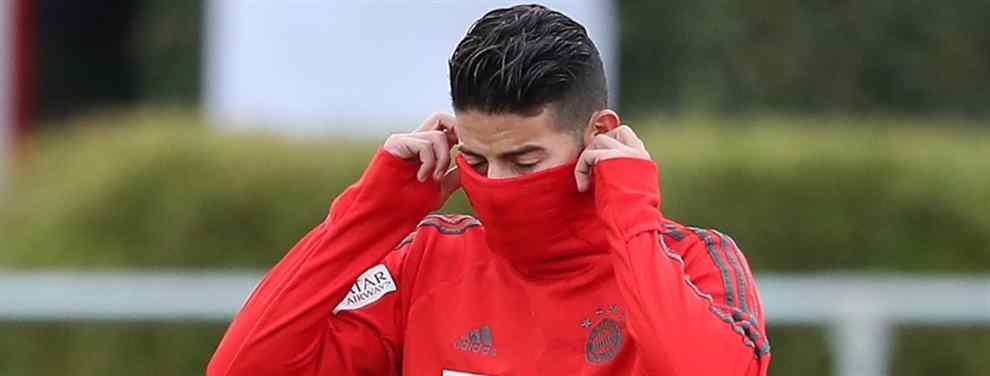 ¡Veta la vuelta de James Rodríguez! El peso pesado del Real Madrid que avisa a Florentino Pérez