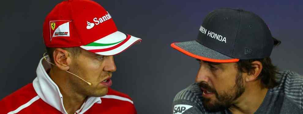 La predicción de Fernando Alonso sobre Vettel: la clavó (y lo destroza. Ojo a lo que dijo)