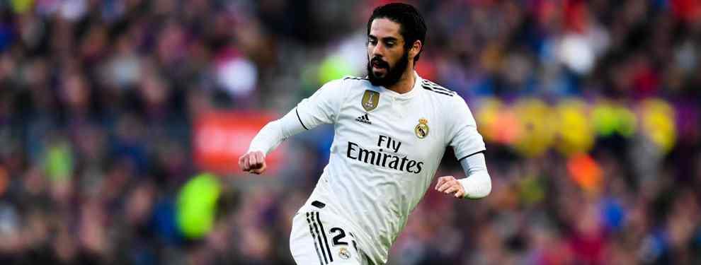 Basura. El vestuario del Real Madrid no perdona, ni pasa una. Y menos aún a Isco Alarcón.  El español está en el punto de mira de los que manda, pero también del grupo que lo señala.
