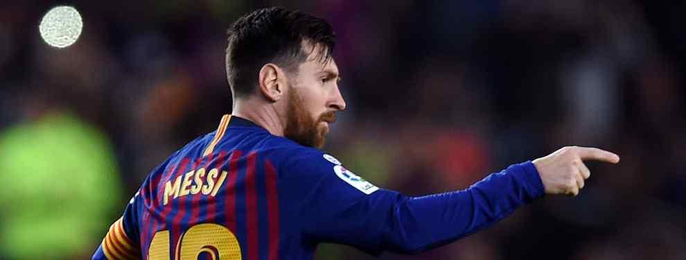 ¡A la calle! El Barça de Messi busca una cesión para un peso pesado (y en enero)