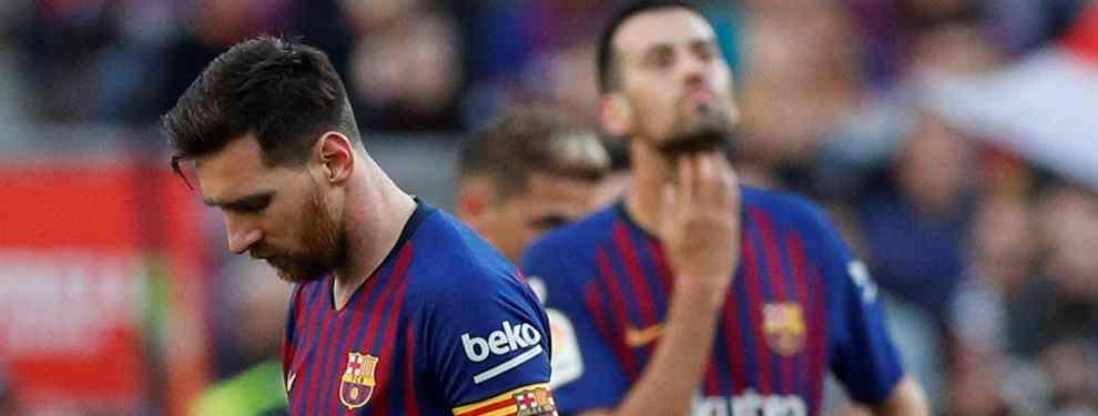 Messi no lo quiere ni ver. Luis Suárez y Busquets tampoco. Y viene al Barça en junio
