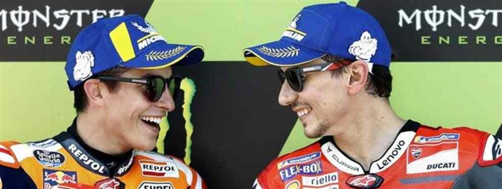 La guerra fría de Jorge Lorenzo con Marc Márquez se calienta: la última en MotoGP