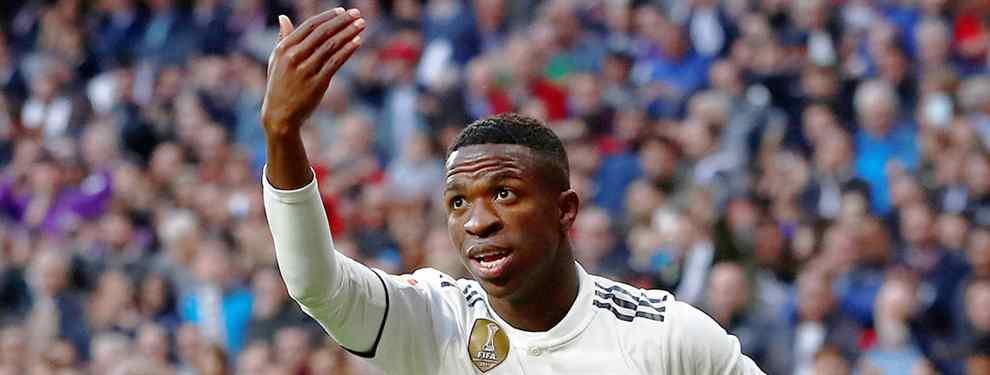 Vinícius tiene cinco ofertas (y con sorpresa) para salir del Real Madrid en enero