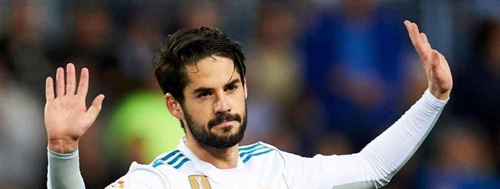 Rajada contra Isco (y sale del vestuario del Real Madrid: el crack que tira de la manta)