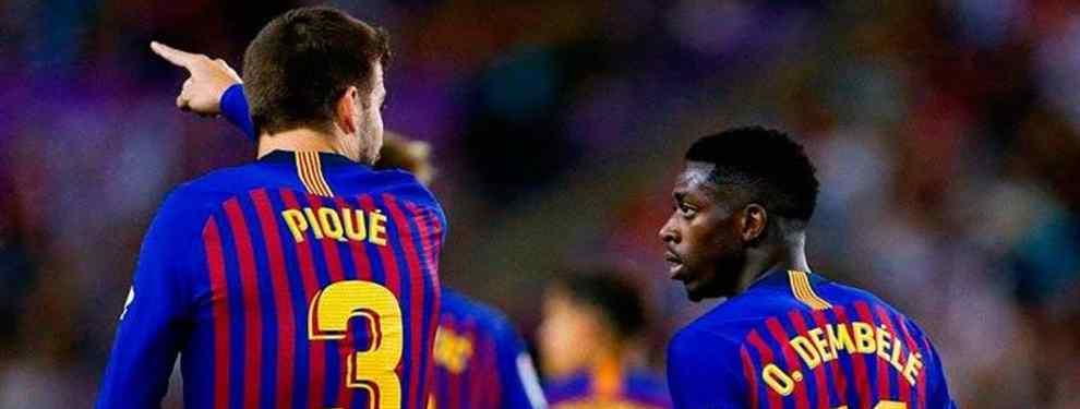 Más lío con Dembélé: el escándalo que el Barça no sabe como tapar