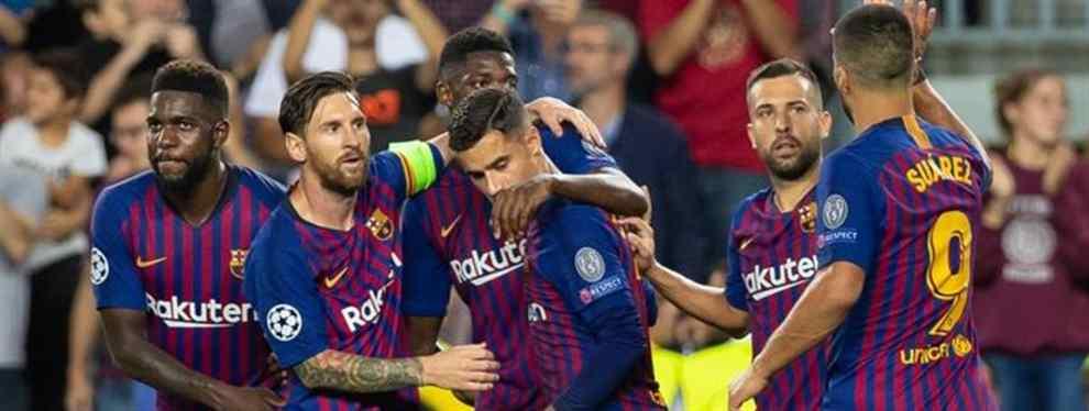 Los fichajes marcan la actualidad en el Barça. Pendientes de posibles llegadas, en el Camp Nou se trabaja en encontrar salida a varios jugadores que no cuentan para Ernesto Valverde.